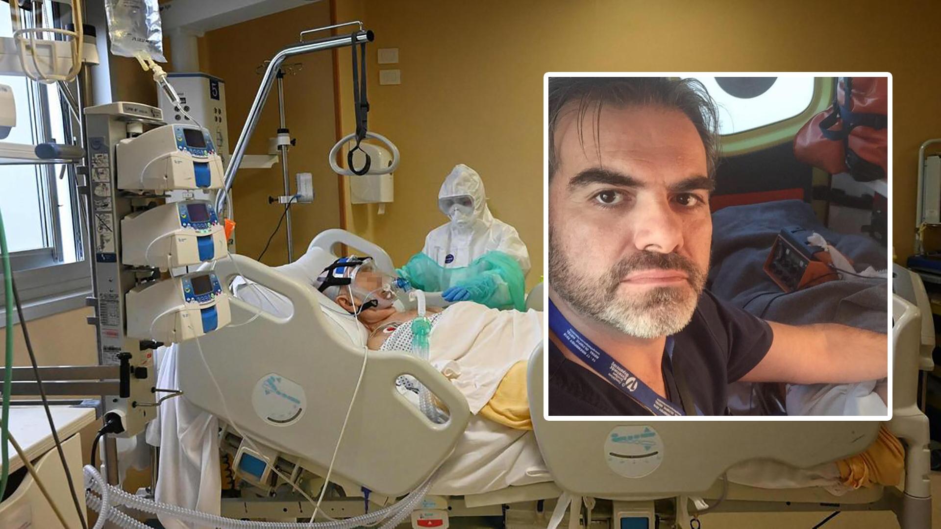 Είμαστε δίπλα σε ασθενείς που βρίσκονται πιο κοντά στο θάνατο από ότι στη ζωή